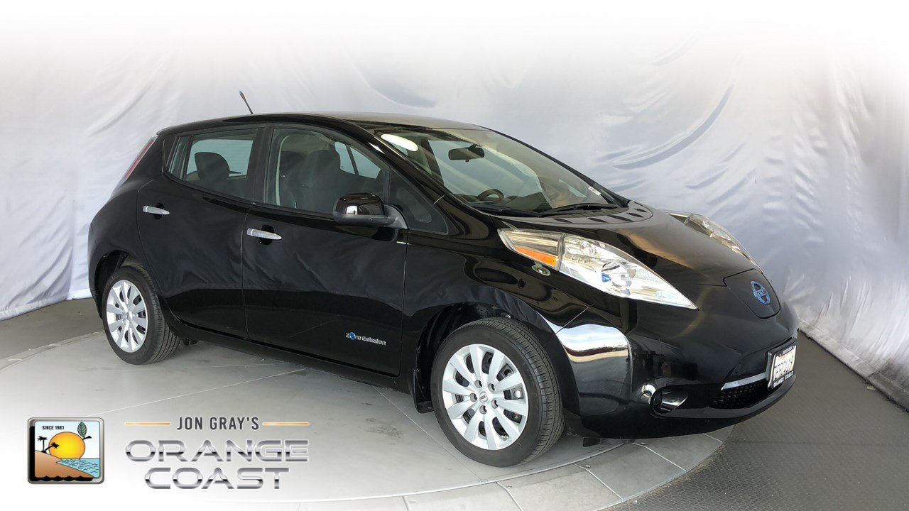 Pre-Owned 2013 Nissan LEAF S
