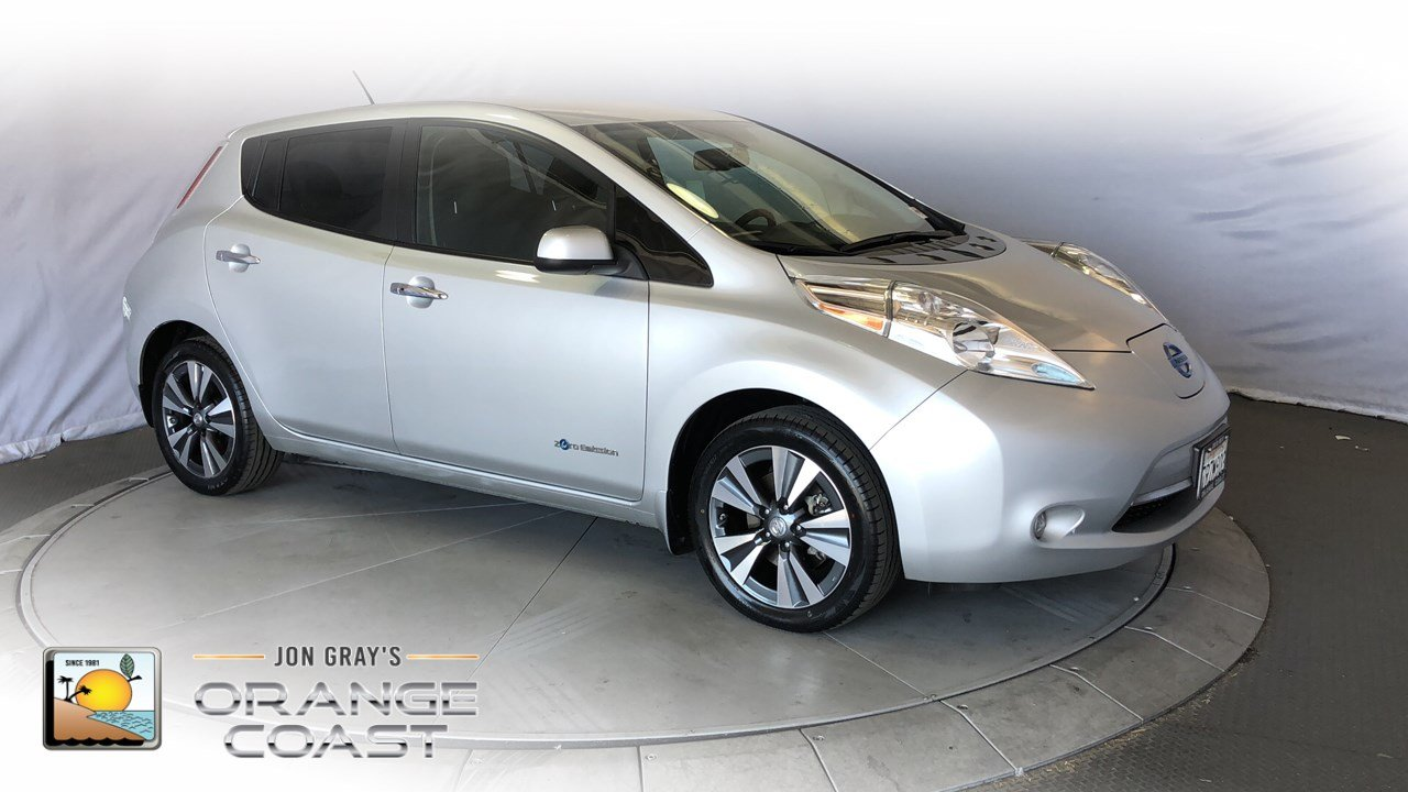 Pre Owned 2016 Nissan Leaf Sv Hatchback In Costa Mesa Pn3511