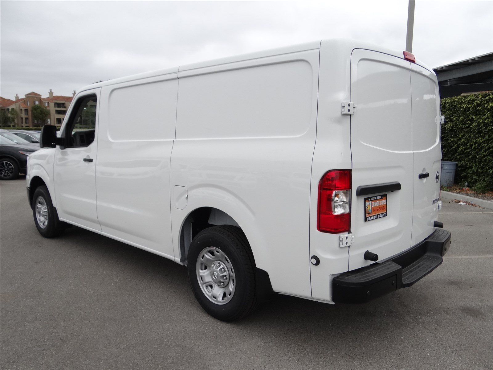 New 2018 Nissan NV Cargo SV Full size Cargo Van in Costa Mesa