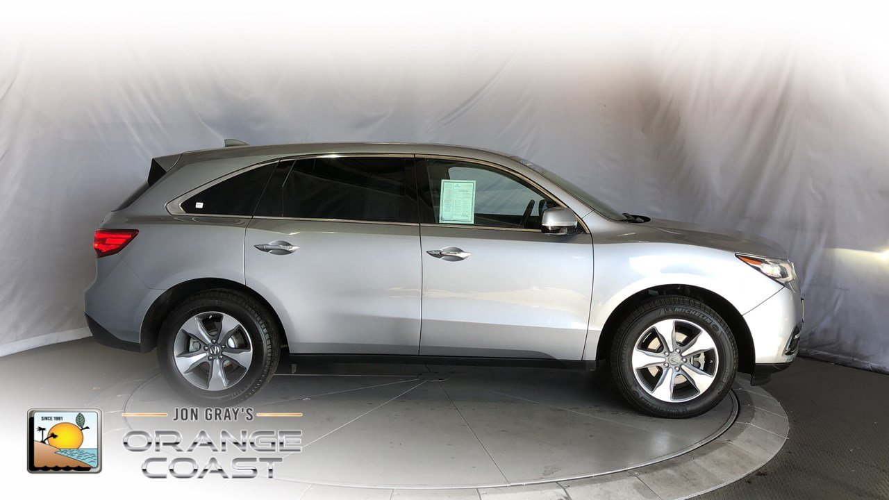 Certified Pre-Owned 2016 Acura MDX 4DR FWD