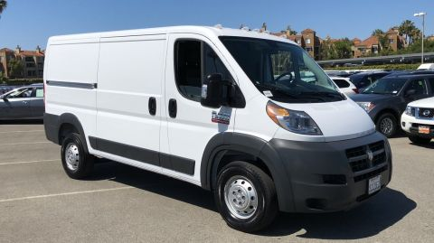 Pre-Owned 2017 Ram ProMaster Cargo Van 1500 LOW RF 136